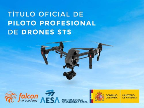 Curso piloto profesional drones (STS)DRONESdrones (STS)